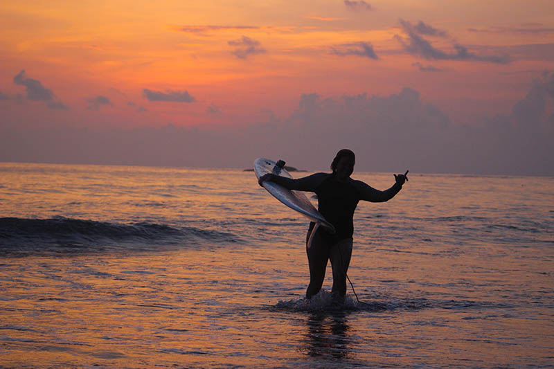 Sunset Surf Living up to its Name…….