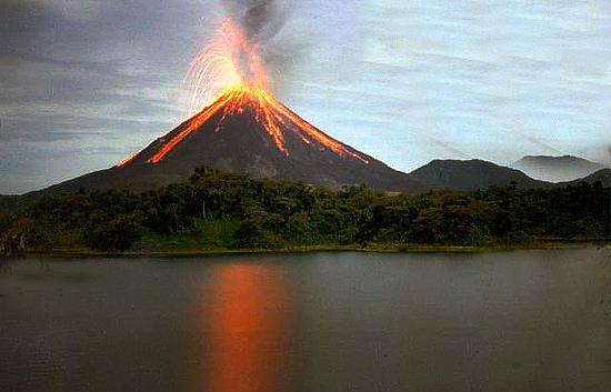 Costa Rica Volcanos