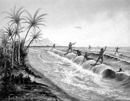 The Ancient Art of Surfing