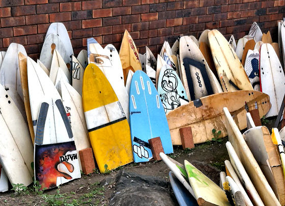 Important but Basic steps for repairing surf board dings