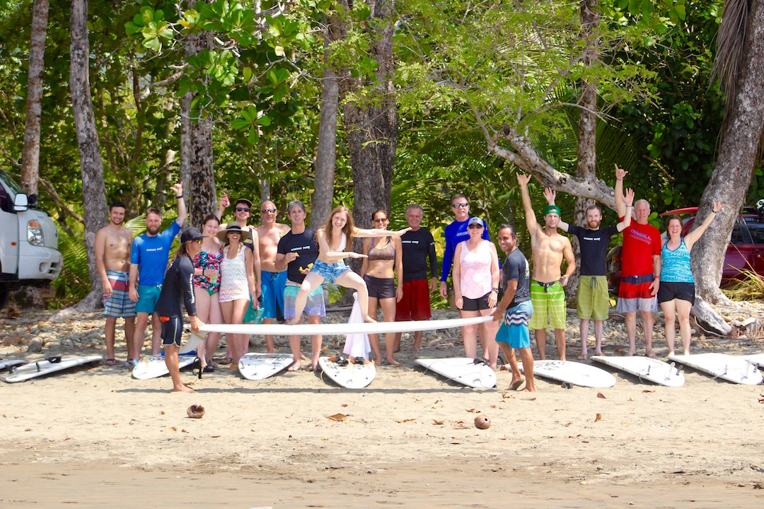 Tropical Adventures at Sunset Surf Dominical!