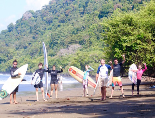 A day at Sunset Surf Camp in Dominical