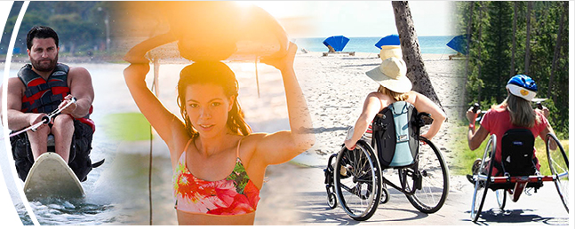 Surfing with disabilities